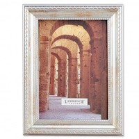 Lawrence Frames Picture Frame with Rope and Bead Border in Antique Silver - 27146 / 27157 / 27180 - Decor