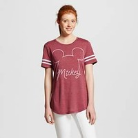 Women's Mickey Outline Graphic Tee - Disney : Target