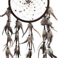 Spiral Tiger Eye Beads - Brown - Dreamcatcher