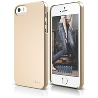 elago S5 Slim Fit 2 Case for iPhone 5/5S - eco friendly Retail Packaging (Soft Feeling Champagne Gold)