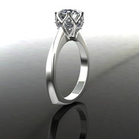 Forever Brilliant Moissanite Engagement Ring 2.31 CTW