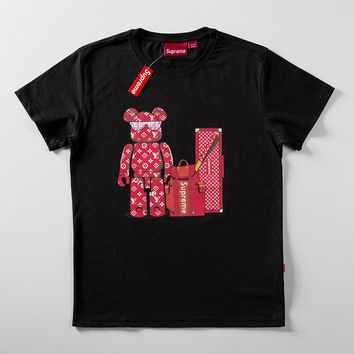 Cheap Women's and men's supreme t shirt for sale 85902898_0137