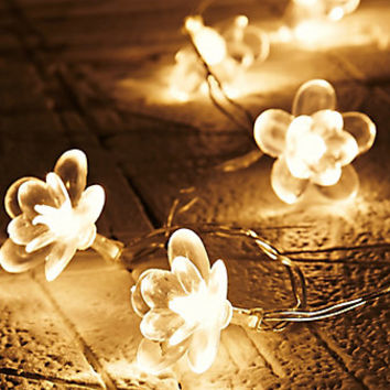 Moonflower String Lights - Urban Outfitters