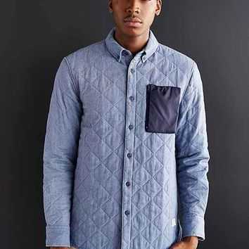 Penfield Nylon Pocket Shirt Jacket- Blue