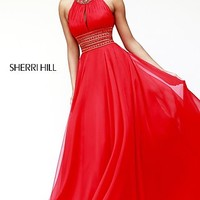 Halter Prom Gown by Sherri Hill