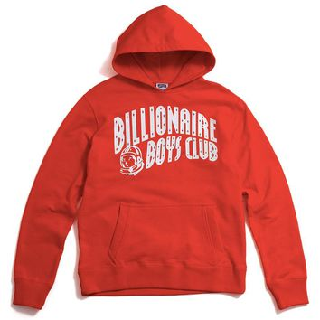 Arch Pullover Hoody Red / Orange