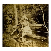 A Fishing Smack - Vintage Stereoview