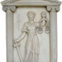 Wall Decor | Themis Relief, Greek Goddess of Justice