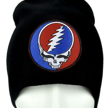Grateful Dead Beanie Alternative Clothing Knit Cap Jerry Garcia
