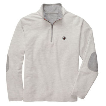 Nelson Quarter Zip Pullover in Grey by Southern Proper - FINAL SALE