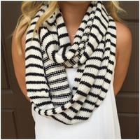 Put a Stripe in it Infinity Scarf - Put a Stripe in it Infinity Scarf