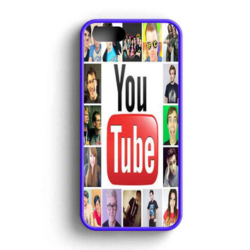 Youtubers Collage Photo Collage  iPhone 5 Case iPhone 5s Case iPhone 5c Case