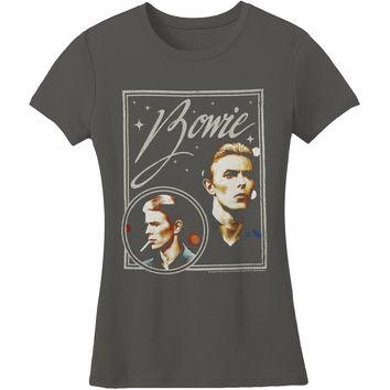 David Bowie  Bowie Vision Junior Top Grey