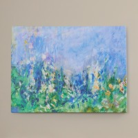 """Alcott Hill """"Lavender Fields"""" by Claude Monet Painting Print on Canvas"""