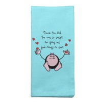 Pink Emoji Children's Meal Prayer Cloth Napkin