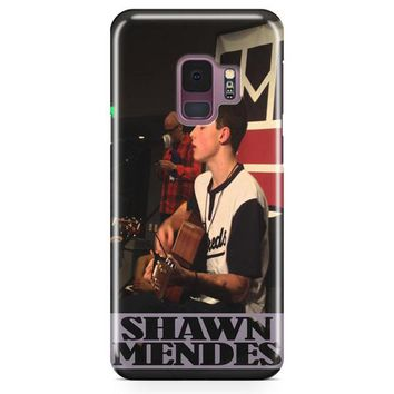 Shawn Mendes Performances Samsung Galaxy S9 Case | Casefantasy