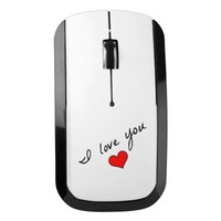 I Love You Wireless Mouse