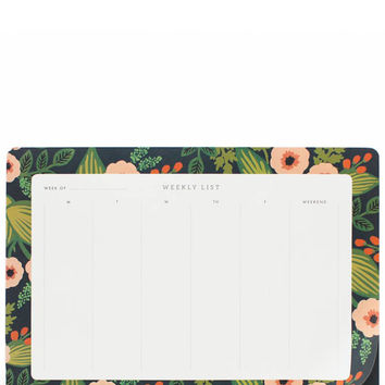 Jardin Weekly Desk Planner