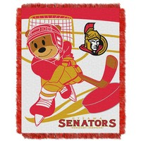 Ottawa Senators Baby Jacquard Throw (Sen Team)