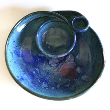 Chip and Dip, handmade ceramic dish, ceramics and pottery, serving, pottery bowl