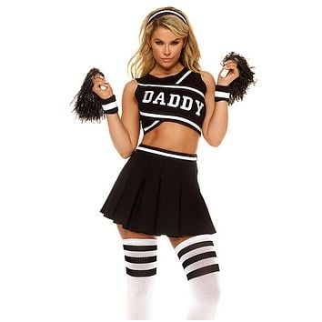 Daddy's Girl Sexy Cheerleader Costume
