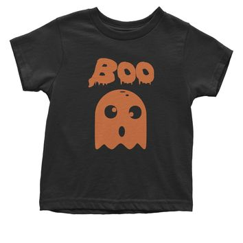 BOO Funny Ghost Halloween  Toddler T-Shirt