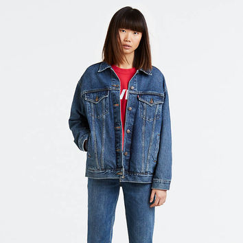 Baggy Trucker Jacket - Medium Wash | Levi's® US