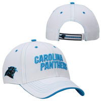 47 Brand Carolina Panthers Polar Adjustable Hat - White