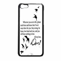 Demi Lovato Quotes iPhone 5c Case