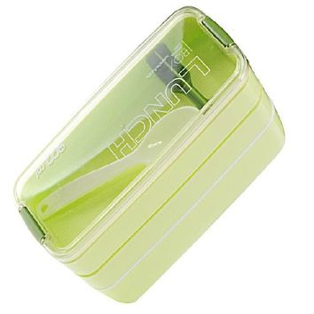 900ml 3 Layers Portable Microwave Lunch Bento Box