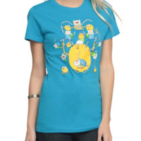 Adventure Time Finns And Jakes Girls T-Shirt