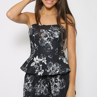 The Fifth Label - New Star Bustier - Floral