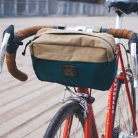 'Big Eddy' Bicycle Handlebar Bag | Brown-Sand by VELOTTON