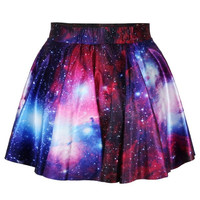 Women's Digital Print Skater Skirt 3