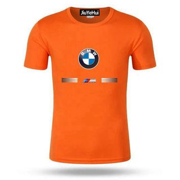 BMW Print Orange T-Shirt