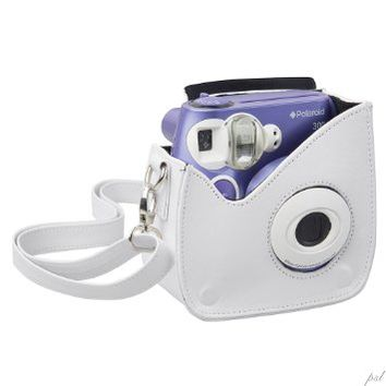 Polaroid Snap & Clip Camera Case For The Polaroid PIC-300 Instant Camera (White)