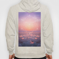 The Sun is but a Morning Star (Geometric Sunrise) Hoody by Soaring Anchor Designs