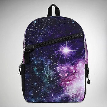 Mojo Galaxy Print LED Backpack - Spencer's