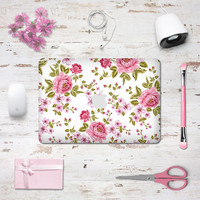 Macbook Decal Skin | Floral Collection - Rose