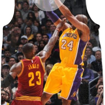 kobe on lebron shirt  number 1