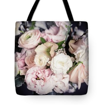 Spring Bouquet In Pastel Tote Bag