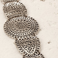 Etched Statement Bracelet