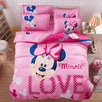 3D MINNIE and MICKEY Bedding Set- ★ Super Deal ★