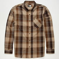 Rip Curl Madera Mens Shirt Grey  In Sizes