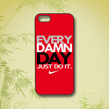 just do it, iPhone 5 Case, iPhone 4 Case, ipod touch 5,ipod touch 4,Samsung Galaxy S4,Samsung Galaxy S3, Samsung note 2, blackberry z10, Q10