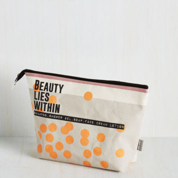 Travel Balance of Shower Toiletry Bag by Disaster Designs from ModCloth