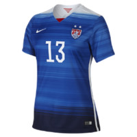 Nike 2015 U.S. Stadium Away (Morgan) Women's Soccer Jersey