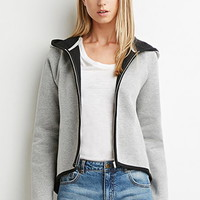 Heathered Double Knit Hoodie