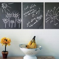 Write on the Wall- Chalkboard Squares (set of 4)