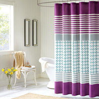 Intelligent Design Halo Shower Curtain|Designer Living